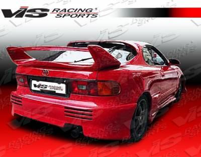 VIS Racing - Toyota Celica VIS Racing Invader Rear Bumper - 90TYCEL2DINV-002