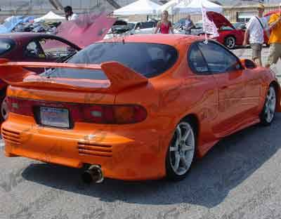 VIS Racing - Toyota Celica VIS Racing Invader Rear Bumper - 90TYCELHBINV-002