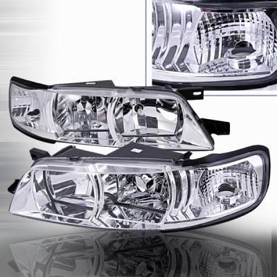 Custom Disco - Nissan Maxima Custom Disco Headlights - 1PC - LCLH-MAX951PC