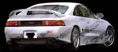 VIS Racing - Toyota MR2 VIS Racing Techno R Rear Bumper - 90TYMR22DTNR-002