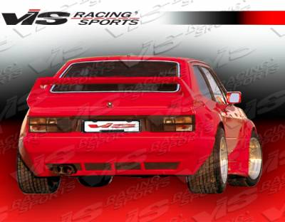 VIS Racing. - Volkswagen Corrado VIS Racing GT Widebody Rear Bumper - 90VWCOR2DGTWB-002