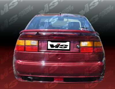 VIS Racing - Volkswagen Corrado VIS Racing Max Rear Bumper - 90VWCOR2DMAX-002