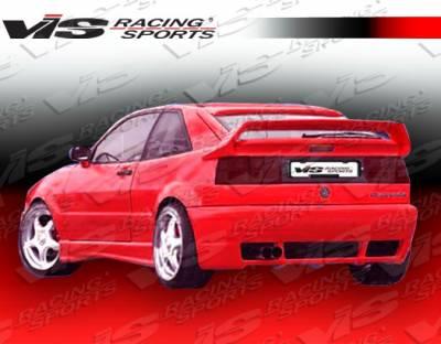 VIS Racing. - Volkswagen Corrado VIS Racing R Tech Rear Lip - 90VWCOR2DRTH-012