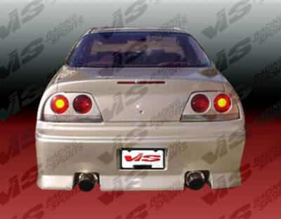 VIS Racing - Acura Legend 2DR VIS Racing VIP Rear Bumper - 91ACLEG2DVIP-002