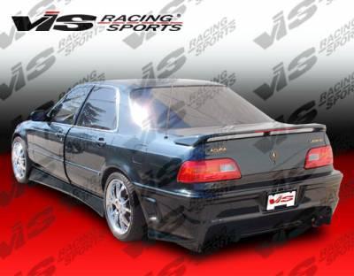 VIS Racing - Acura Legend 4DR VIS Racing Cyber Rear Bumper - 91ACLEG4DCY-002