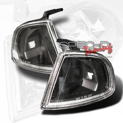Custom Disco - Honda Prelude Custom Disco Black Corner Lights - LC-PL92JM-YD