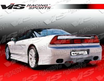 VIS Racing - Acura NSX VIS Racing Techno R Rear Lip - 91ACNSX2DTNR-012