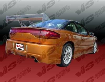 VIS Racing - Saturn SC Coupe VIS Racing TSC Rear Bumper - 91SASC22DTSC-002