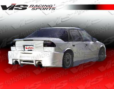 VIS Racing. - Saturn SL VIS Racing ZD Rear Bumper - 91SASL4DZD-002