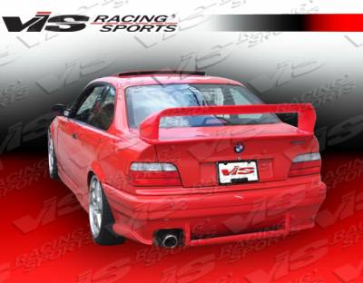VIS Racing - BMW 3 Series VIS Racing Euro Tech Rear Bumper - 92BME362DET-002