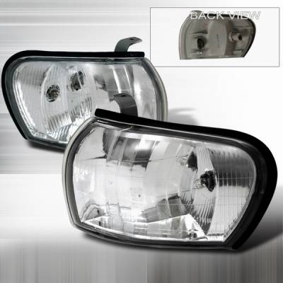 Custom Disco - Subaru Impreza Custom Disco Euro Corner Lights - LC-WRX97-DP