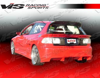 VIS Racing - Honda Civic HB VIS Racing Stalker Rear Bumper - 92HDCVCHBSTK-002
