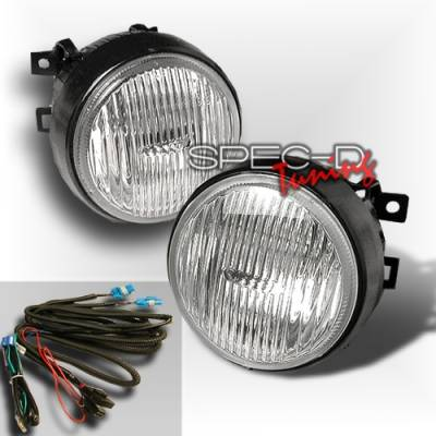 Custom Disco - Honda Civic Custom Disco Clear Round OEM Fog Lights - LF-CV96CRND