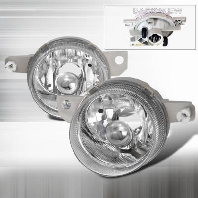Custom Disco - Honda Del Sol Custom Disco Chrome Fog Light Kit - LF-DEL93ABM