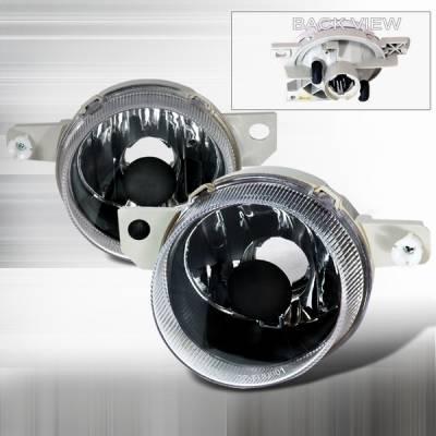 Custom Disco - Honda Del Sol Custom Disco Black OEM Fog Lights - LF-DEL93JMABM
