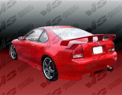VIS Racing - Honda Prelude VIS Racing Z1 boxer Rear Bumper - 92HDPRE2DZ1-002