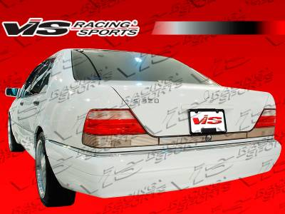 VIS Racing - Mercedes-Benz S Class VIS Racing Laser Rear Bumper - 92MEW1404DLS-002