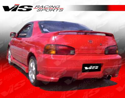 VIS Racing - Toyota Paseo VIS Racing J Speed Rear Bumper - 92TYPAS2DJSP-002