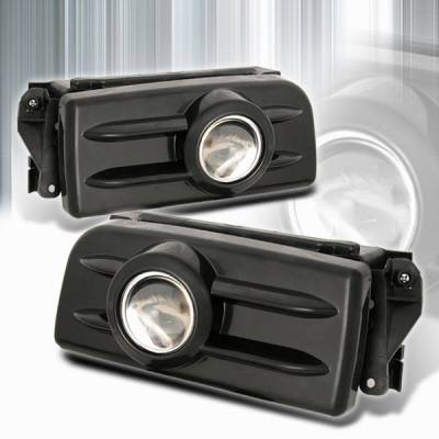 Custom Disco - BMW 3 Series Custom Disco Black Projector Fog Lights - LF-PE3692JM