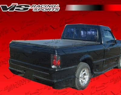 VIS Racing - Ford Ranger VIS Racing Striker Rear Bumper - 93FDRAN2DSTR-002