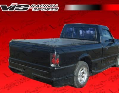 VIS Racing - Ford Ranger VIS Racing Striker Rear Bumper - 93FDRAN2DSTR-002