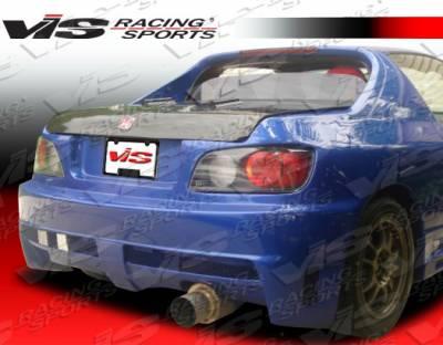 VIS Racing - Honda Del Sol VIS Racing Xtreme Rear Bumper - 93HDDEL2DEX-002