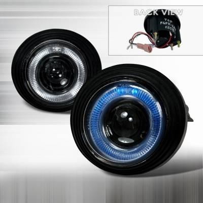 Custom Disco - GMC Envoy Custom Disco Projector Fog Lights - LF-PEVY02H-TM