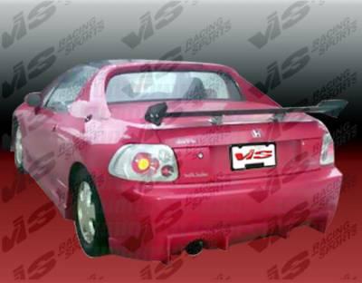 VIS Racing - Honda Del Sol VIS Racing TSC Rear Bumper - 93HDDEL2DTSC-002