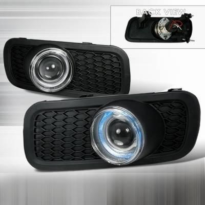 Custom Disco - Ford F150 Custom Disco Halo Projector Fog Lights - LF-PF15004H-TM