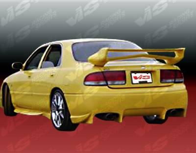VIS Racing - Mazda 626 VIS Racing Invader Rear Bumper - 93MZ6264DINV-002
