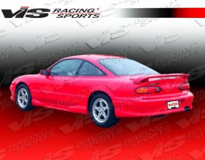 VIS Racing - Mazda MX6 VIS Racing Magnum Rear Bumper - 93MZMX62DMAG-002