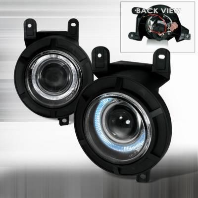 Custom Disco - Lincoln Navigator Custom Disco Fog Light Proector - LF-PNAV98H-TM
