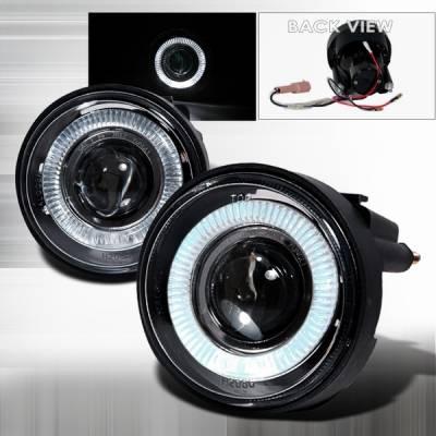 Custom Disco - Dodge Neon Custom Disco Projector Fog Lights - LF-PNEO03H-TM