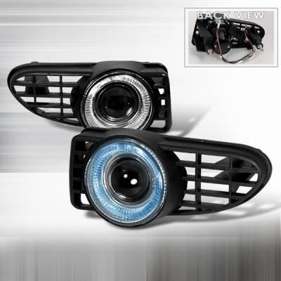 Custom Disco - Chrysler PT Cruiser Custom Disco Projector Fog Lights - LF-PPTC01H-TM