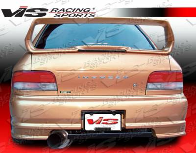 VIS Racing - Subaru Impreza VIS Racing Demon Rear Bumper - 93SBIMP4DDEM-002