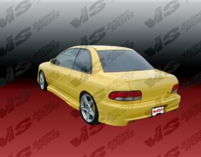 VIS Racing - Subaru Impreza VIS Racing Zyclone Rear Bumper - 93SBIMP4DZYC-002