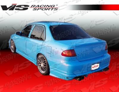 VIS Racing - Toyota Corolla VIS Racing Ballistix Rear Bumper - 93TYCOR4DBX-002