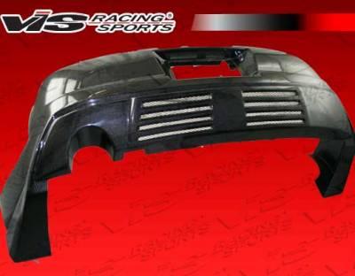 VIS Racing - Toyota Supra VIS Racing Carbon Fiber Xtreme GT Rear Bumper - 93TYSUP2DGT-002C