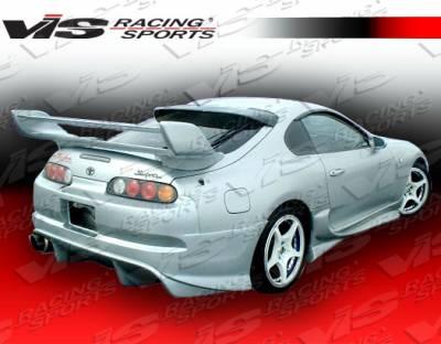 VIS Racing - Toyota Supra VIS Racing Tranz Rear Bumper - 93TYSUP2DTZ-002