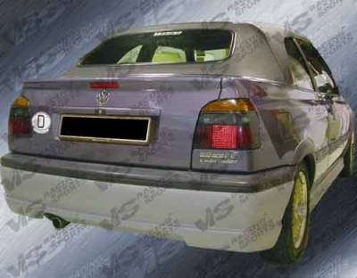 VIS Racing - Volkswagen Golf VIS Racing Rabiat Rear Lip - 93VWGOF2DRAB-012