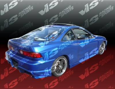 VIS Racing - Acura Integra 2DR VIS Racing Ballistix Rear Bumper - 94ACINT2DBX-002