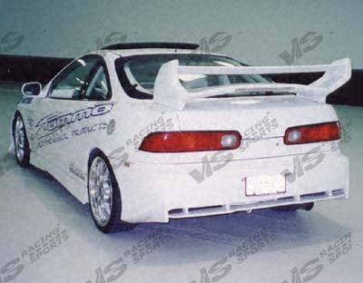 VIS Racing - Acura Integra 2DR VIS Racing Invader Rear Bumper - 94ACINT2DINV-002
