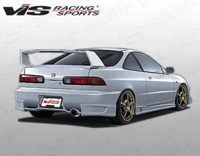 VIS Racing - Acura Integra 2DR VIS Racing JPC Rear Lip - 94ACINT2DJPC-012P
