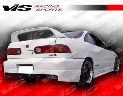 VIS Racing - Acura Integra 2DR VIS Racing Stalker Rear Lip - 94ACINT2DSTK-012