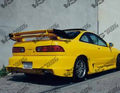 VIS Racing. - Acura Integra 2DR VIS Racing Striker Rear Bumper - 94ACINT2DSTR-002