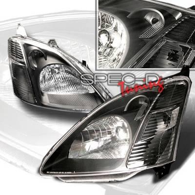 Custom Disco - Honda Civic Custom Disco Black Headlights - LH-CV033JM-KS