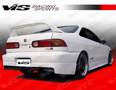 VIS Racing - Acura Integra 4DR VIS Racing Stalker Rear Lip - 94ACINT4DSTK-012