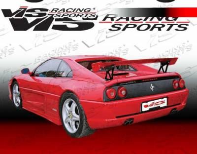 VIS Racing - Ferrari F355 VIS Racing Matrix Design Rear Bumper - 94FR3552DMAT-002