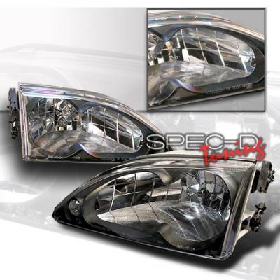 Custom Disco - Ford Mustang Custom Disco Black Headlights - LH-MST95JM