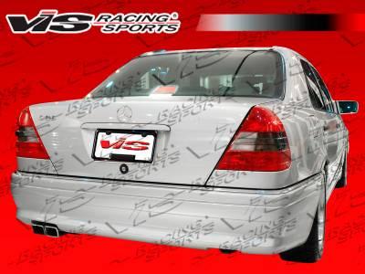VIS Racing - Mercedes-Benz C Class VIS Racing Euro Tech Rear Bumper - 94MEW2024DET-002